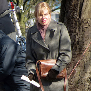 Nicole Kidman on Set of Before I Go to Sleep | Pictures