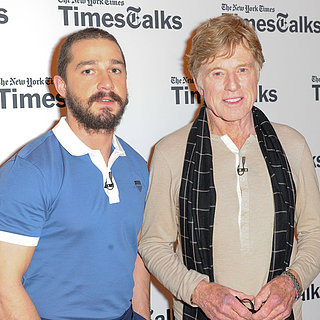 Shia LaBeouf and Robert Redford TimesTalks Event | Photos