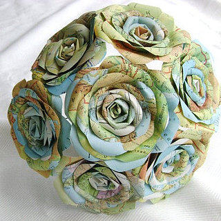 Upcycled Wedding Bouquets