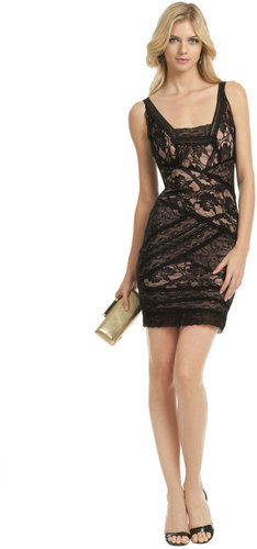 Nicole Miller All Laced Up Dress