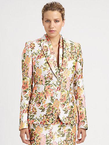 Stella McCartney Floral Jacquard Jacket