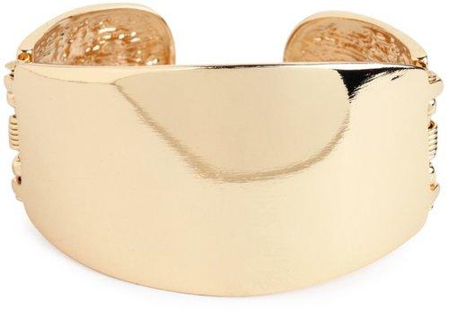 Gold Hinge Cuff