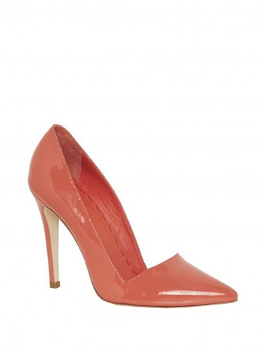 Dina Smooth Patent Heel