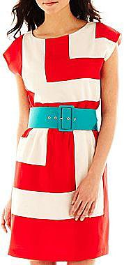 Alyx® Belted Colorblock Dress