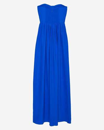 Parker Exclusive Bayour Quilted Bustier Maxi Dress