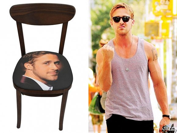 Ryan Gosling Shakes His Fist at Ryan Gosling Products