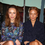 Lara Bingle and Jessica McNamee Front Row Rebecca Valllance
