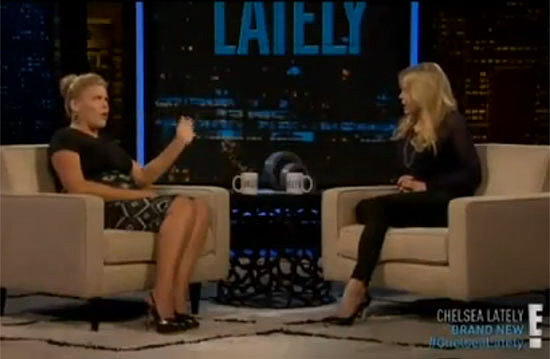 Busy Philipps Talks Pregnancy and Not Drinking With Chelsea Handler