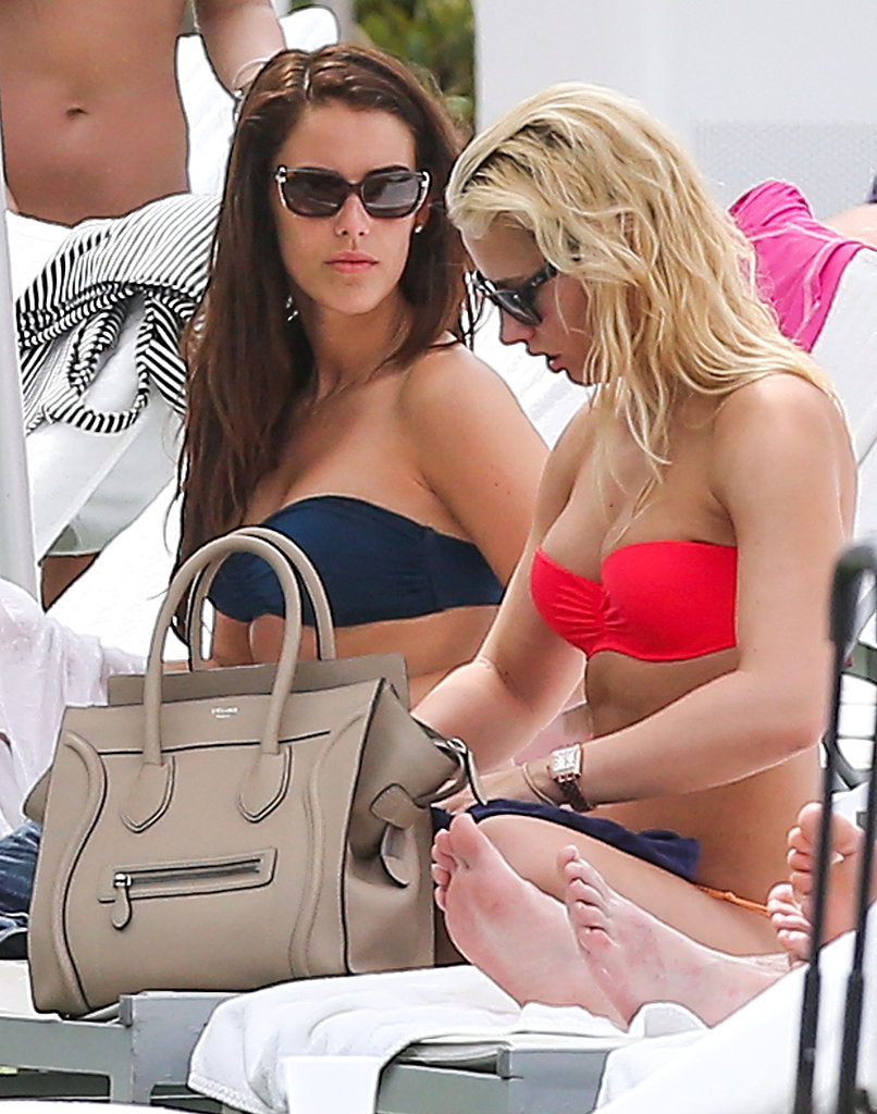 Jessica Lowndes Leaves the 90210 to Hang Poolside in Miami