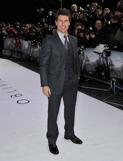 Tom Cruise stepped out in London for the UK premiere.