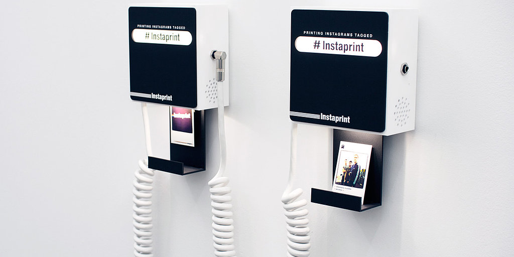 Here Comes Instagram: Social Wedding Photo Booths