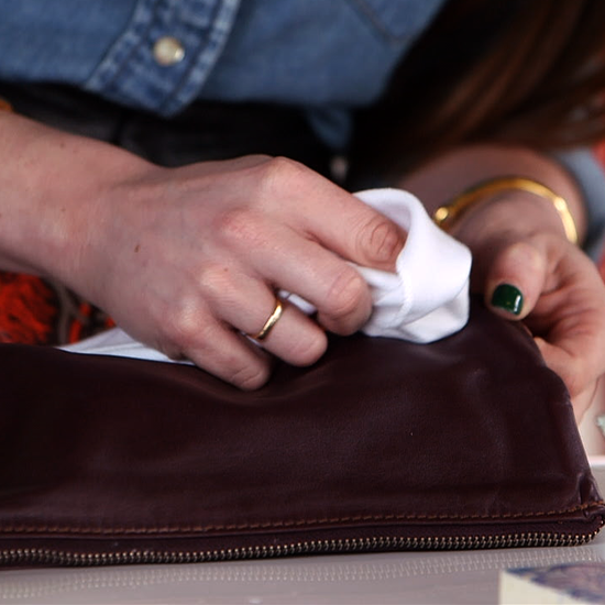 How To Remove Stains From Leather Video Popsugar Fashion