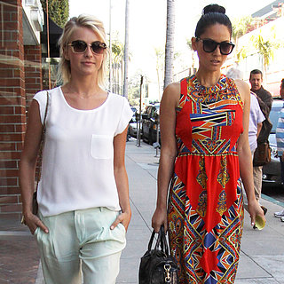 Spring Outfit Ideas | Julianne Hough and Olivia Munn in LA