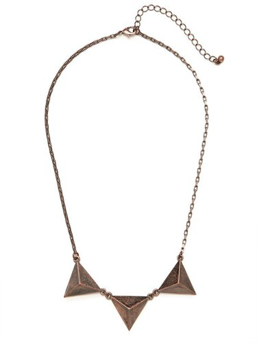 Rose Trio Triad Necklace