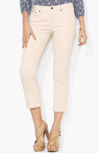 Lauren Ralph Lauren Modern Straight Leg Ankle Pants
