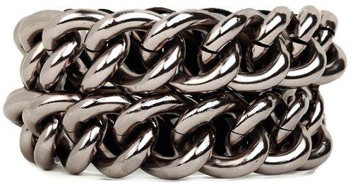 Hematite Link Bracelet
