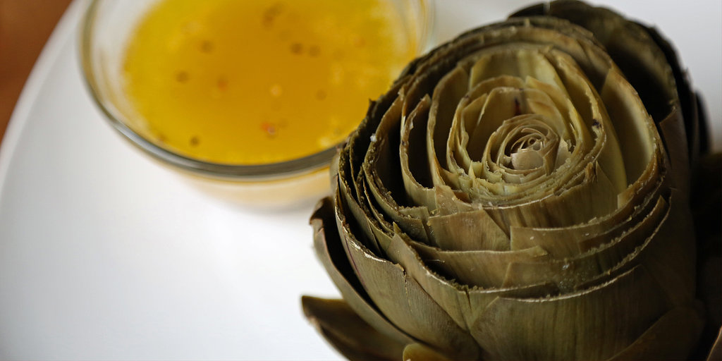 Steamy Artichokes With Lemon-Pepper Butter