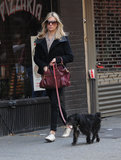 Sienna Miller strolled through NYC with her best friend, Bess, in November 2009.