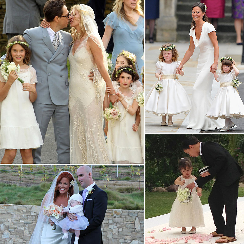 Sweet Flower Girl Looks Straight From Celebrity Weddings