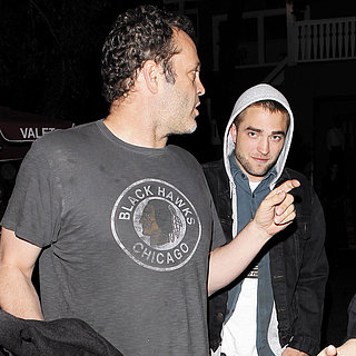 Robert Pattinson With Vince Vaughn and Joaquin Phoenix
