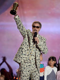 Will Ferrell accepted the Comedic Genius award in true style.