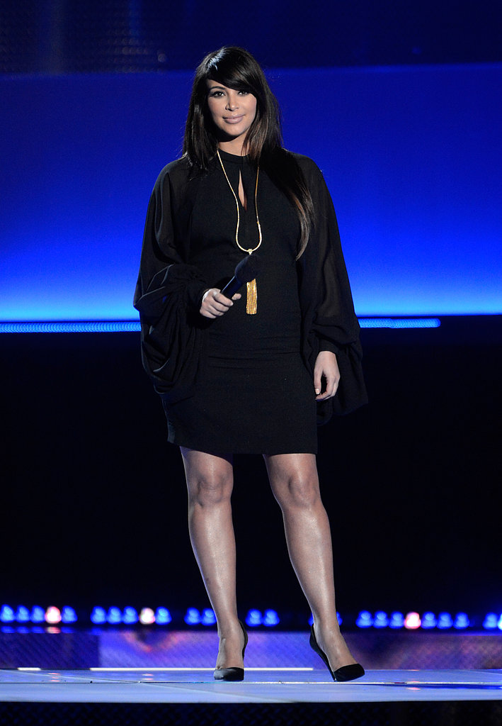 Kim Kardashian hit the stage at the award show.