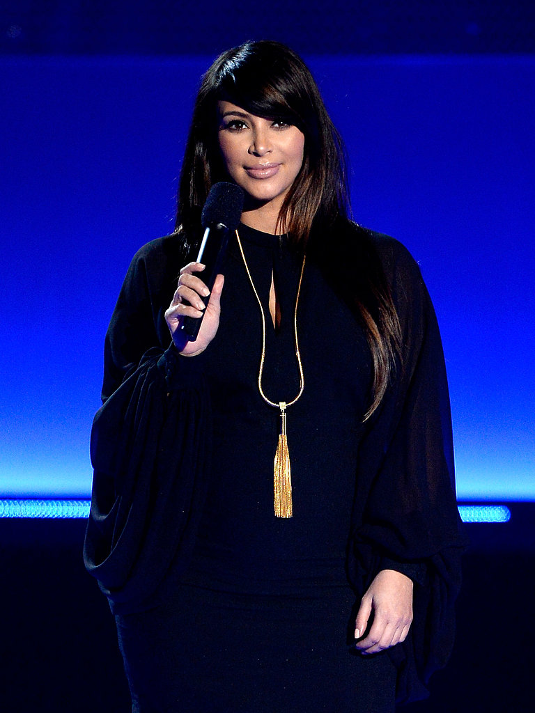 Kim Kardashian made an appearance at the award show.