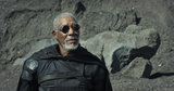 Morgan Freeman in Oblivion.