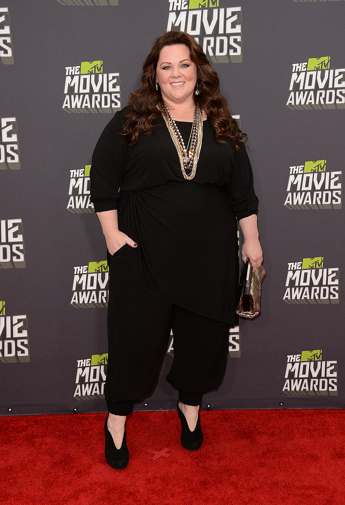 Melissa McCarthy stepped out for the MTV Movie Awards.