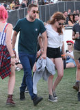 Robert Pattinson and Kristen Stewart hung out at Coachella.