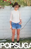 Julianne Hough attended Bazaar's Coachella party. Photo: Chi Chau