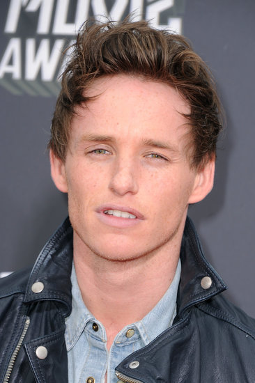 Eddie Redmayne arrived at the MTV Movie Awards in LA.
