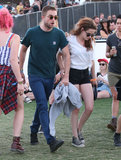 Robert Pattinson and Kristen Stewart attended Coachella.