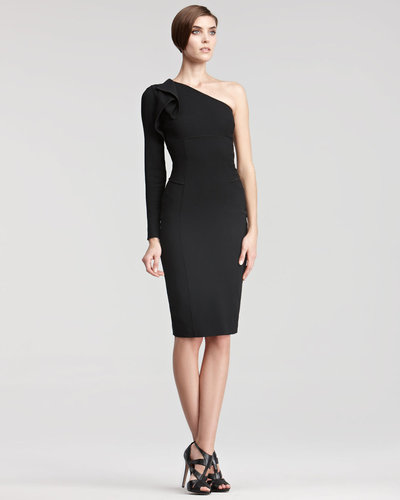 Elie Saab One-Sleeve Dress