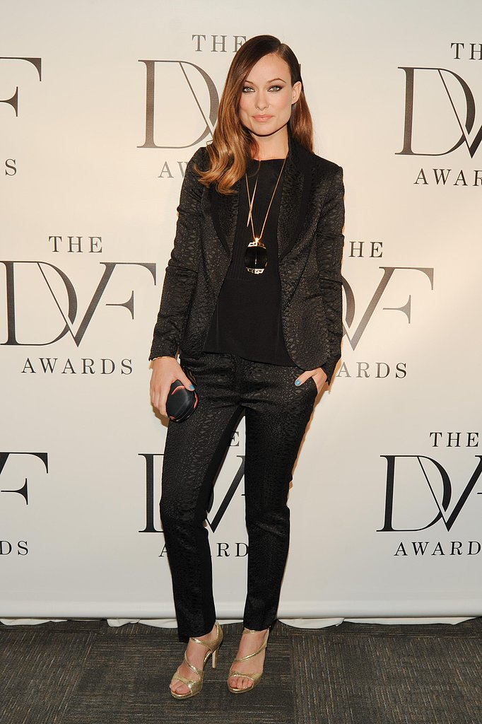 Olivia Wilde at the DVF Awards in New York.