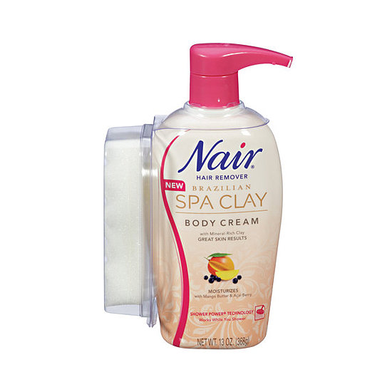 Some people are wary of depilatory creams due to the stench, but Nair's Brazilian Spa Clay Hair Removal Body Cream ($11) disguises the strong smell with mango and acai berry. Plus, it stays on while you shower, meaning it works its magic while you shampoo and condition.