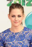A swept-back ponytail allowed Kristen's smoky blue shadow to shine at the Kids' Choice Awards in 2012.