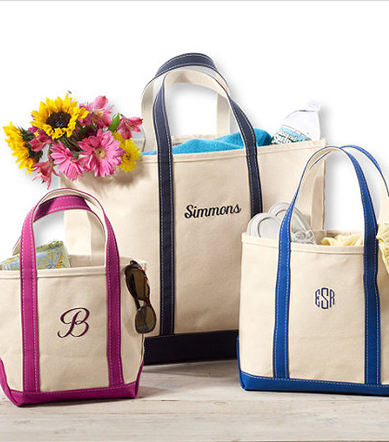 Classic Monogrammed Tote Bag