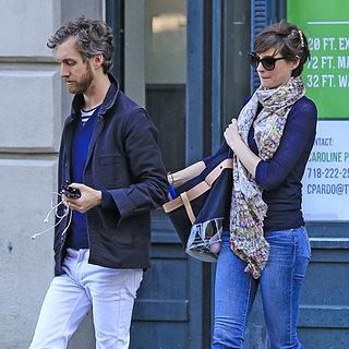 Anne Hathaway and Adam Shulman Leave Their Brooklyn Home