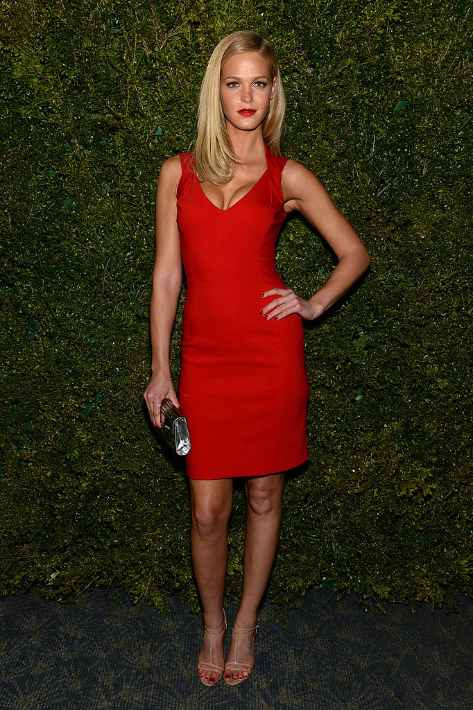 Erin Heatherton attended the event.
