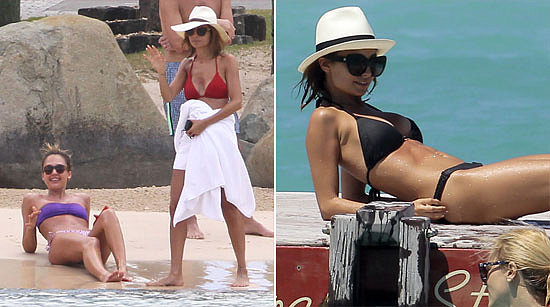 Video: Jessica and Nicole's Bikini-Filled Trip, Robert's Night Out, and More Top Headlines
