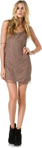 Angie Beaded Party Dress