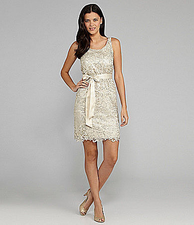 MM Couture by Miss Me Lace Scoopback Dress