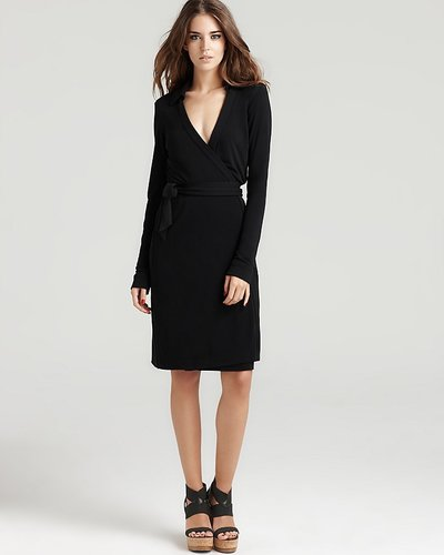 DIANE von FURSTENBERG &quot;Jeanne&quot; Wrap Dress