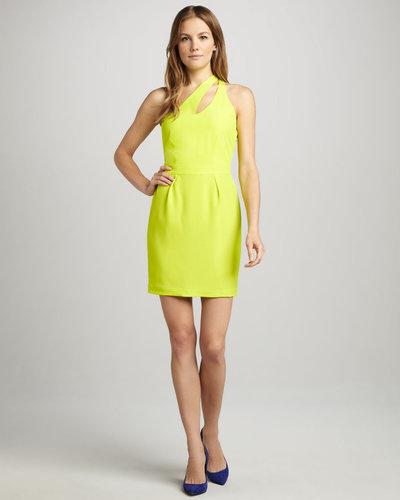 Naven Bella Slit-Top Dress