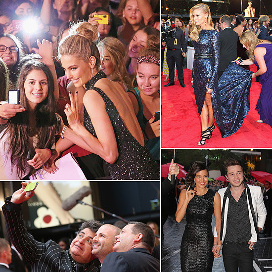 The Best Candid Photos From the 2013 Logies Red Carpet