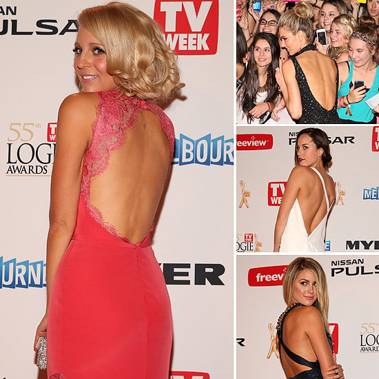 2013 Logies Style Trends: Sexy, Detailed Backs