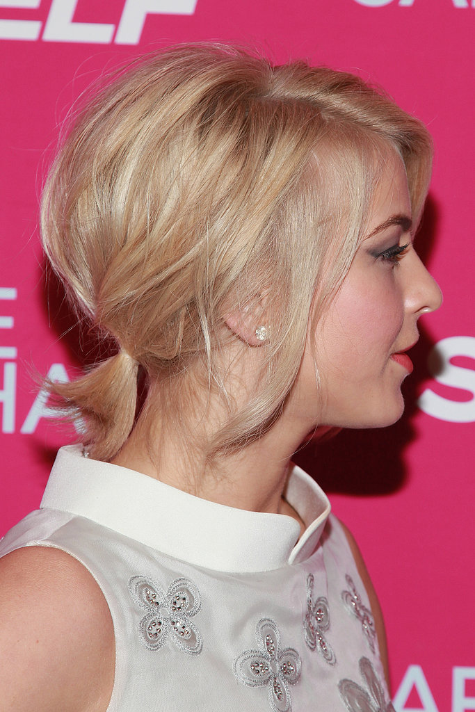 From the side, you can see Julianne's miniature pony has plenty of texture and volume.