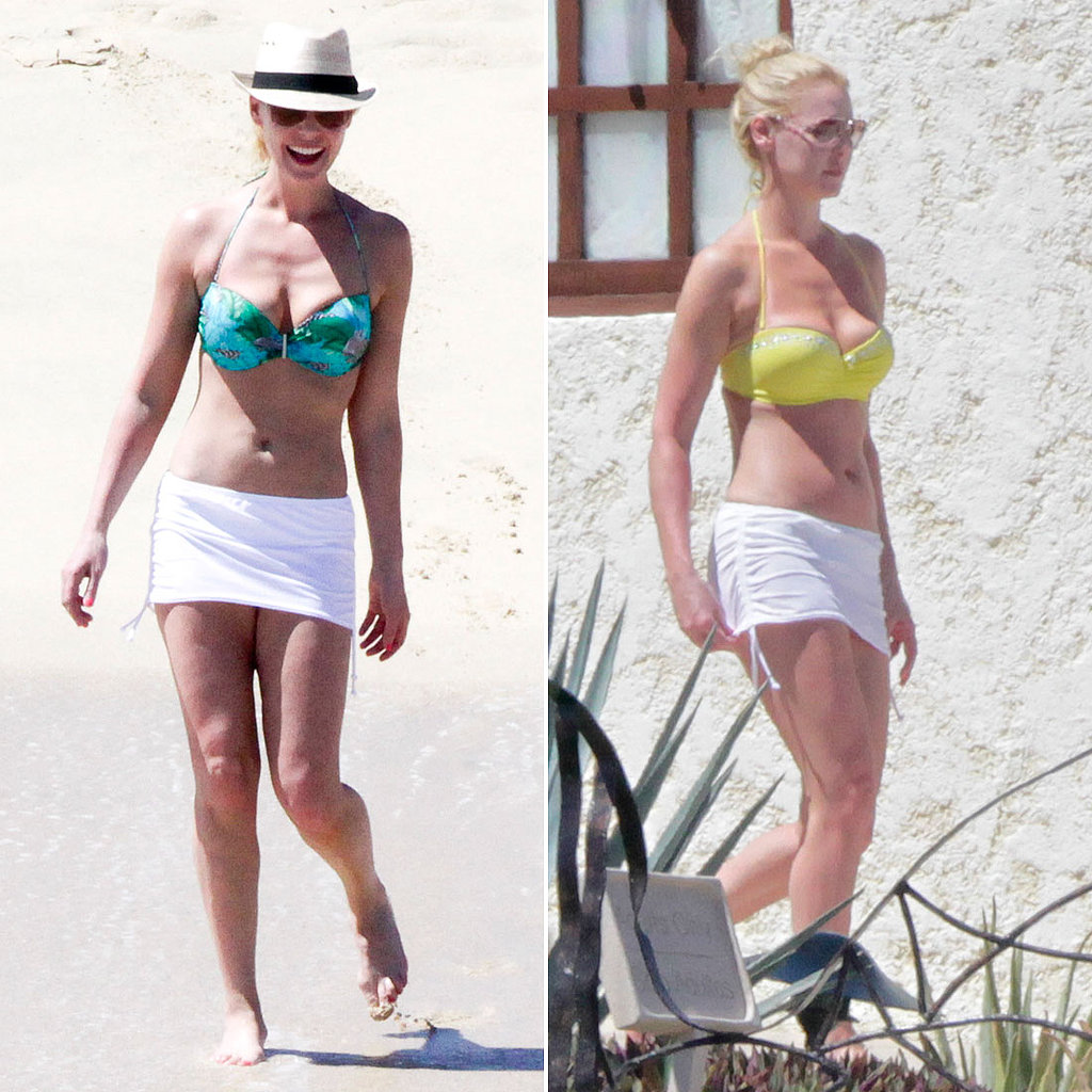 Bikini-Clad Katherine Heigl Escapes to Cabo For a Girls' Getaway