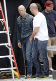Sofia Vergara and Jason Statham Heat Up the Set in New Orleans